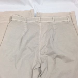 Everlane Pants - NWT Everlane Wide Leg Crop Chino In Sand 🌿